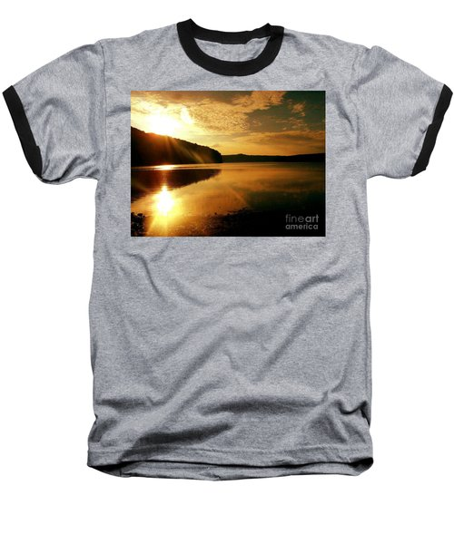 Reflections Of The Day Baseball T-Shirt