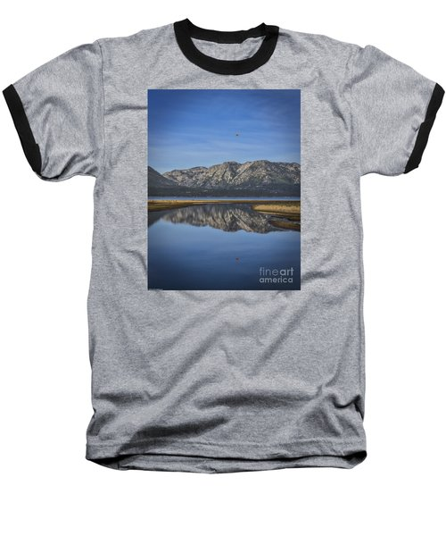 Baseball T-Shirt featuring the photograph Reflections Of The Morning by Mitch Shindelbower