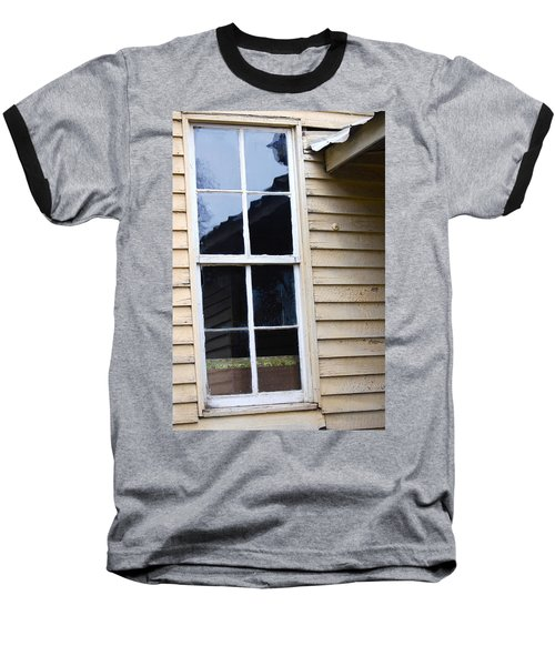 Baseball T-Shirt featuring the photograph Reflections Of The Past by Debbie Karnes