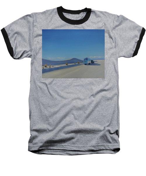 Reflections Of White Sands Baseball T-Shirt