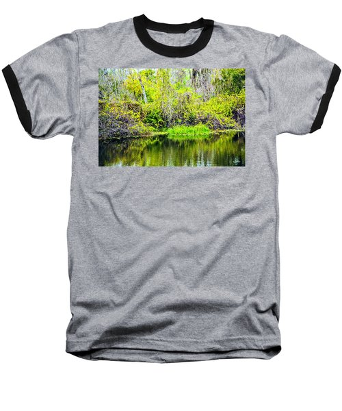 Baseball T-Shirt featuring the photograph Reflections On A Beautiful Day by Madeline Ellis