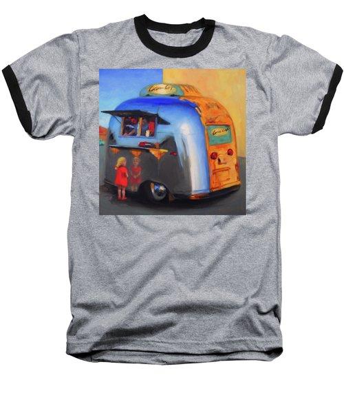 Reflections On An Airstream Baseball T-Shirt