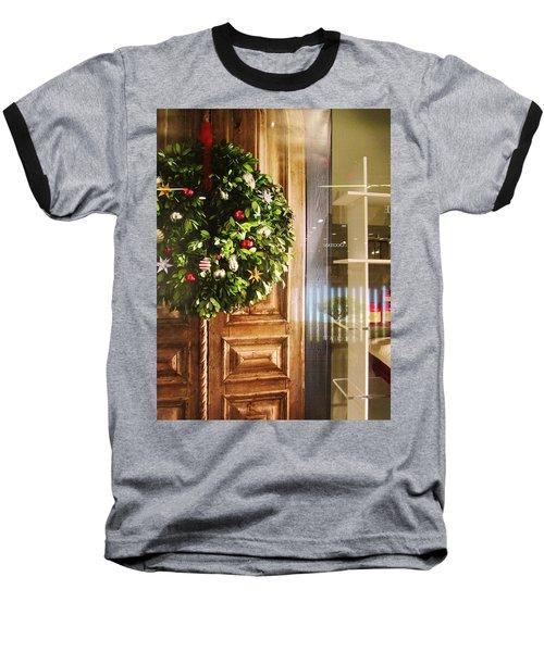 Reflections On Christmas Baseball T-Shirt