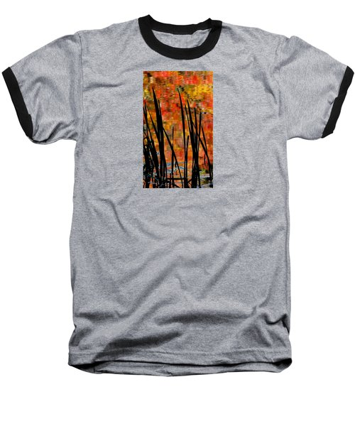 Baseball T-Shirt featuring the photograph Reflections On Infinity by Angela Davies