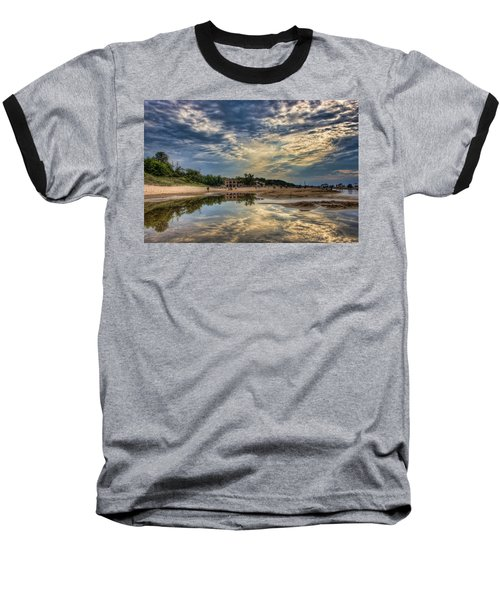 Reflections On The Beach Baseball T-Shirt
