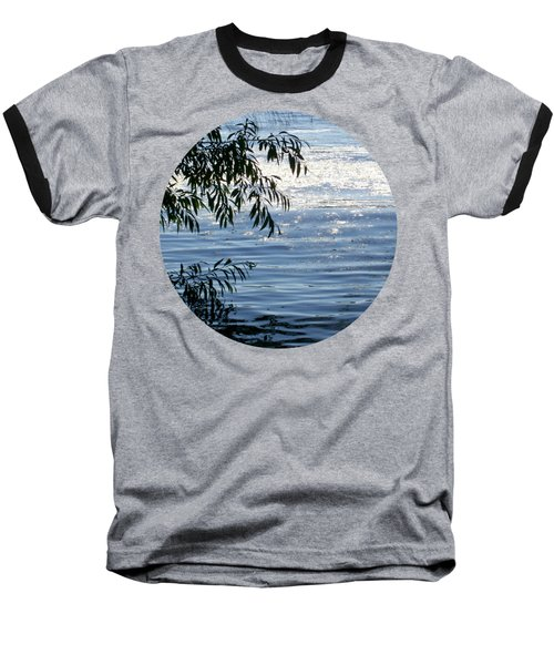 Reflections On The Lake Baseball T-Shirt