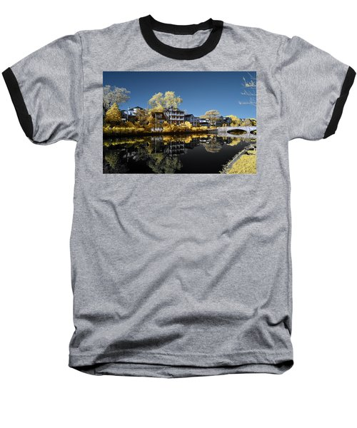 Reflections On Wesley Lake Baseball T-Shirt