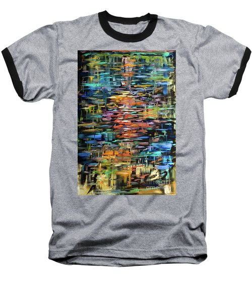 Reflections Rain Baseball T-Shirt