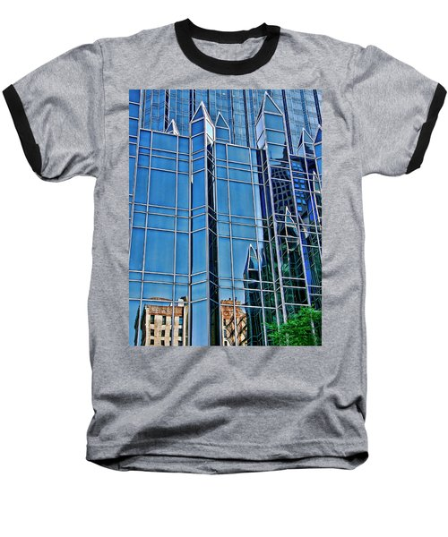 Reflections Baseball T-Shirt by Rhonda McDougall