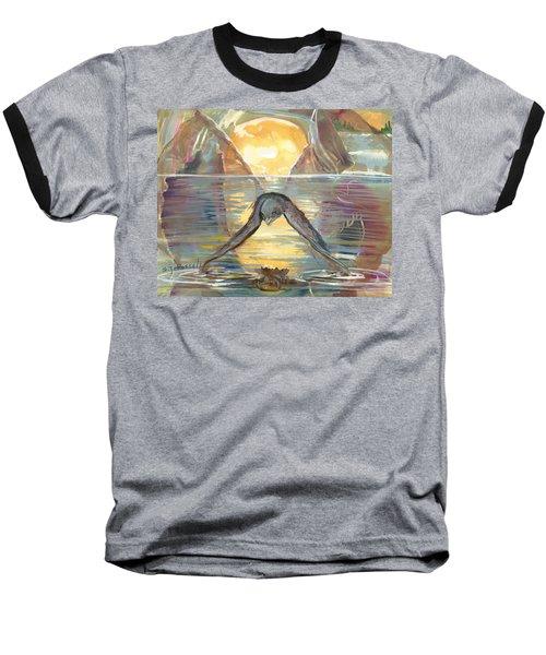 Reflections Swallowed Baseball T-Shirt