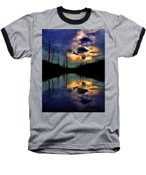Baseball T-Shirt featuring the photograph Reflections by Tara Turner