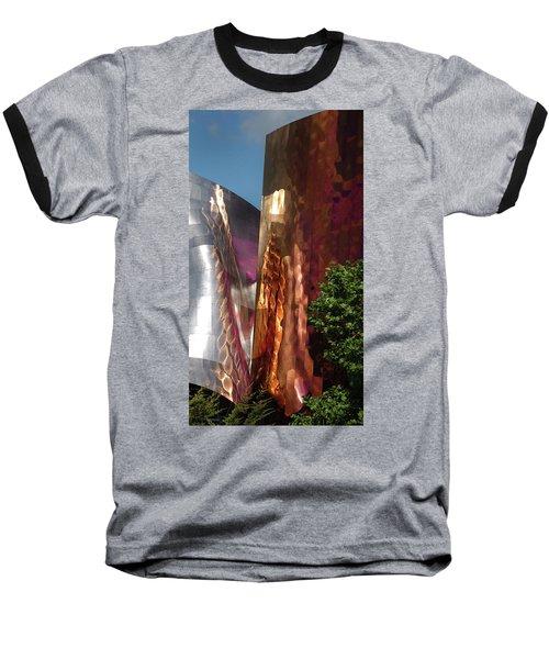 Reflective Buildings Baseball T-Shirt