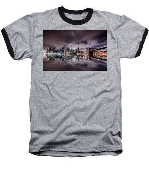Reflector Adherence  Baseball T-Shirt