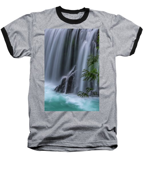 Refreshing Waterfall Baseball T-Shirt