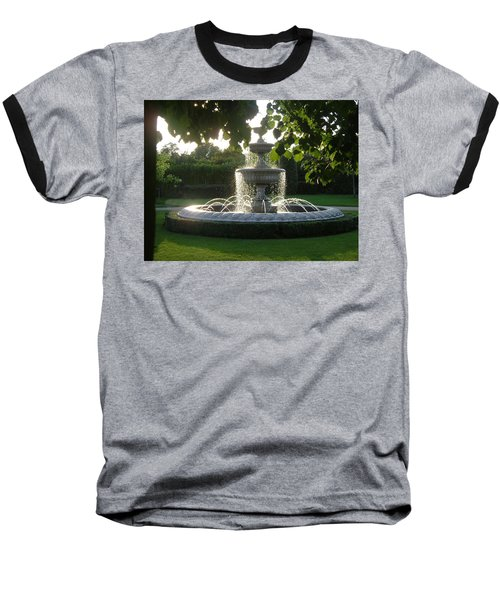 Regents Park Fountain Baseball T-Shirt