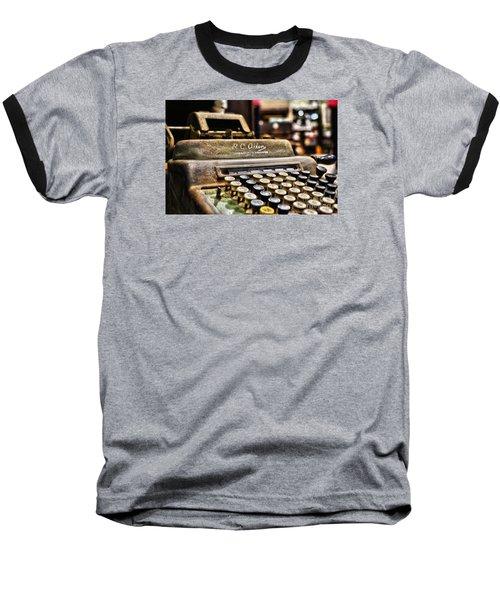 Register Baseball T-Shirt