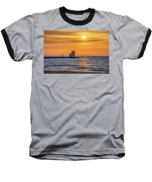 Baseball T-Shirt featuring the photograph Rehabilitation Rising by Bill Pevlor