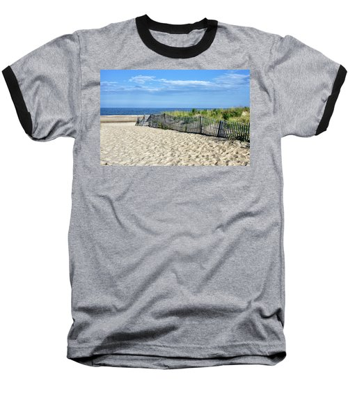 Baseball T-Shirt featuring the photograph Rehoboth Delaware by Brendan Reals