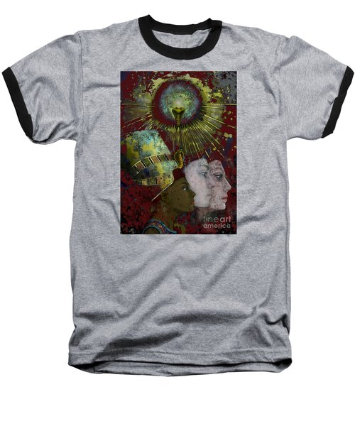 Reincarnate Baseball T-Shirt by Carol Jacobs