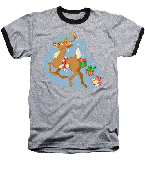 Reindeer Gifts Baseball T-Shirt