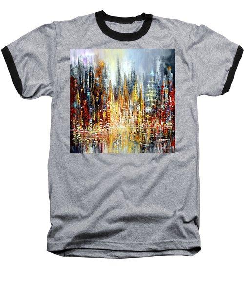 Rejoice Baseball T-Shirt by Tatiana Iliina