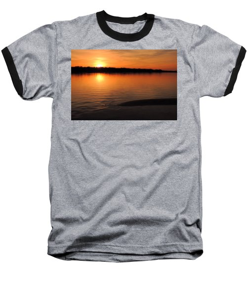 Baseball T-Shirt featuring the photograph Relax And Enjoy by Teresa Schomig