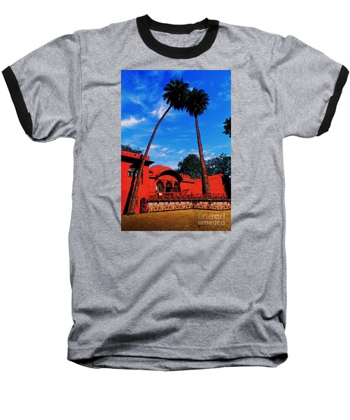 Relax With Nature Baseball T-Shirt by Manjot Singh Sachdeva