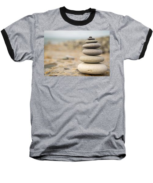 Baseball T-Shirt featuring the photograph Relaxation Stones by John Williams