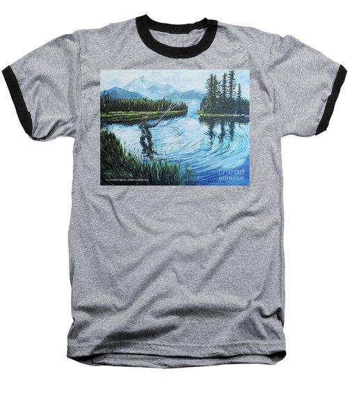 Relaxing @ Fly Fishing Baseball T-Shirt