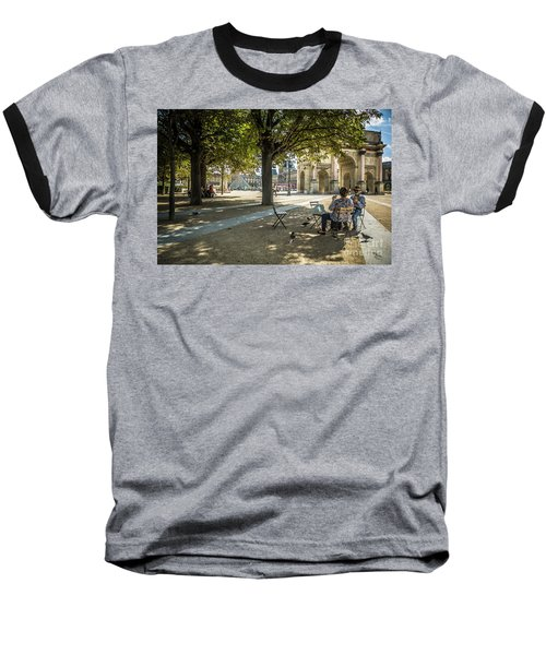 Relaxing Afternoon In Paris Baseball T-Shirt