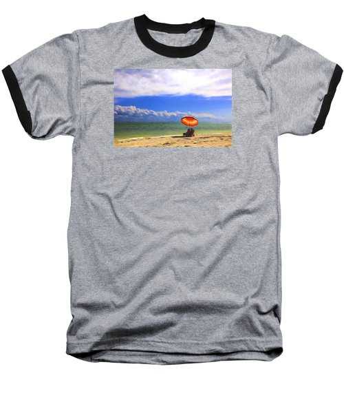 Relaxing On Sanibel Baseball T-Shirt