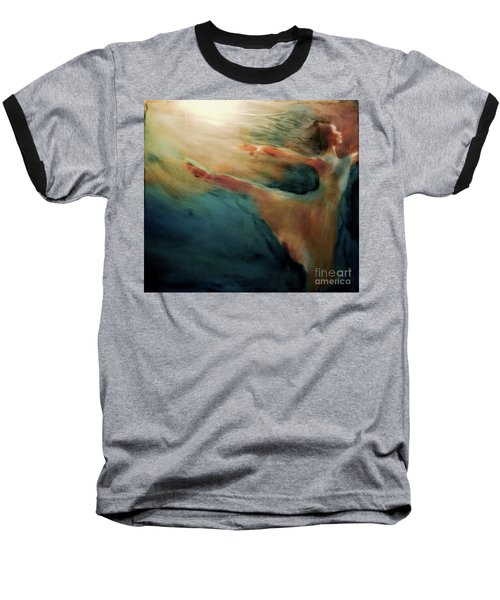 Baseball T-Shirt featuring the painting Releasing Of The Soul by FeatherStone Studio Julie A Miller