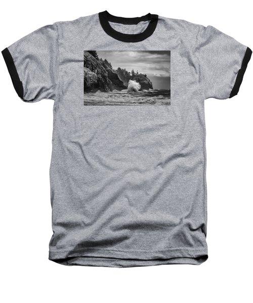 Relentless Assault Baseball T-Shirt by James Heckt