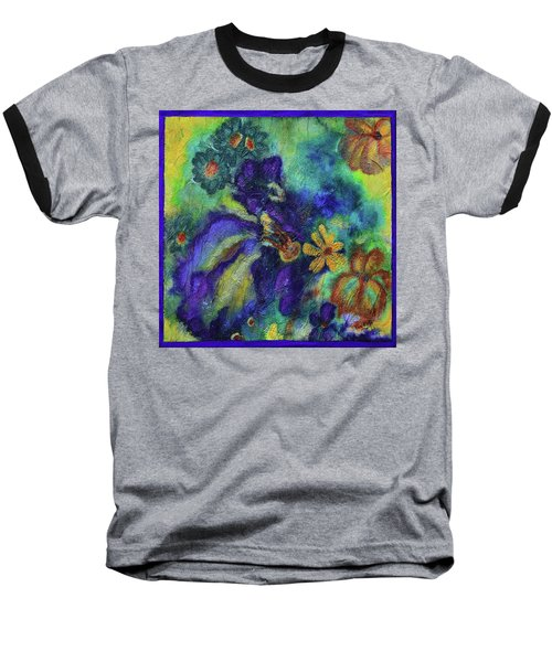 Remember The Flowers Baseball T-Shirt by Donna Blackhall