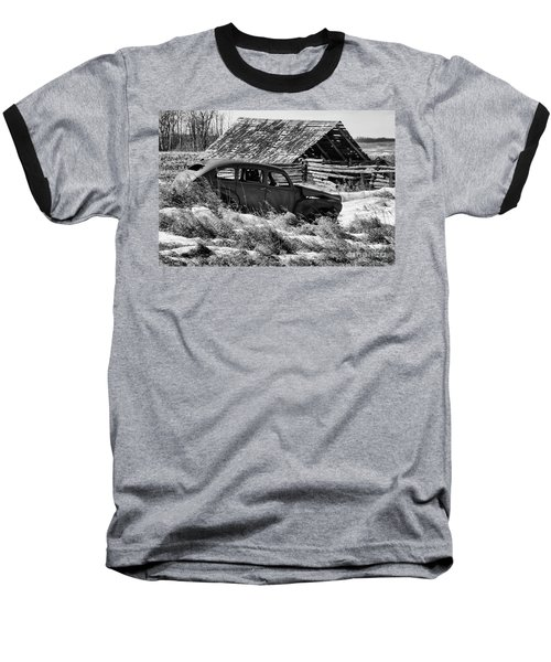 Remember The Past Work For The Future Baseball T-Shirt by Bob Christopher