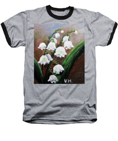 Remember The Scent Baseball T-Shirt by Vesna Martinjak