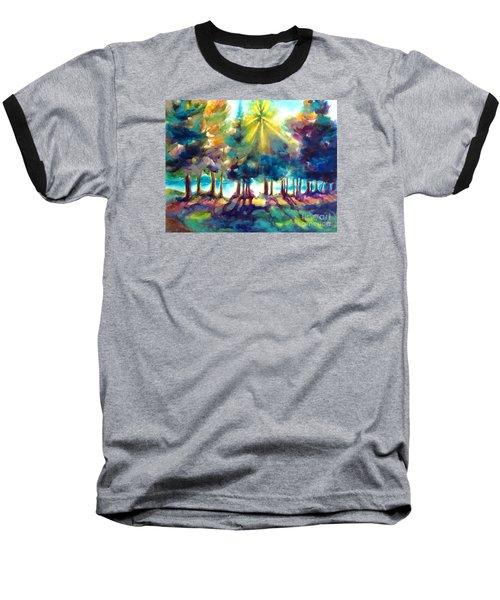 Remember The Son Baseball T-Shirt by Kathy Braud