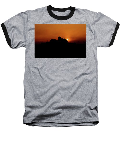 Baseball T-Shirt featuring the photograph Remember The Sun by Robert Geary