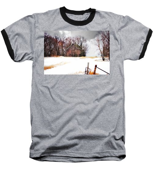 Baseball T-Shirt featuring the photograph Remember When by Julie Hamilton