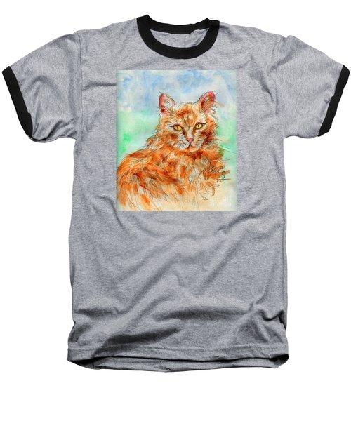 Remembering Butterscotch Baseball T-Shirt by P J Lewis