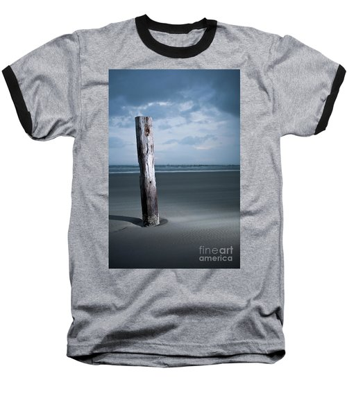 Remnant Of The Past On Outer Banks Baseball T-Shirt by Dan Carmichael