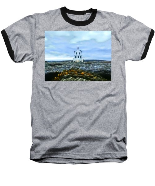 Remnants On The Rocks Baseball T-Shirt