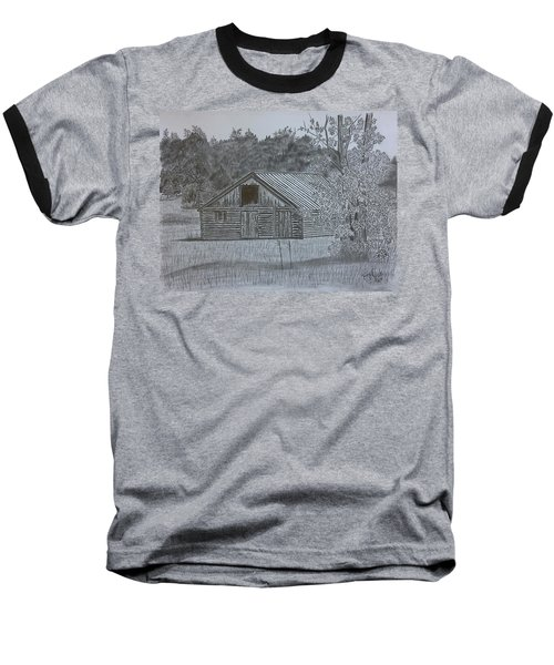 Remote Cabin Baseball T-Shirt