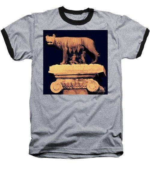 Remus And Romulus Baseball T-Shirt