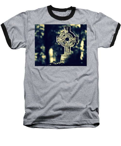 Renaissance Cross Baseball T-Shirt by Joseph Skompski