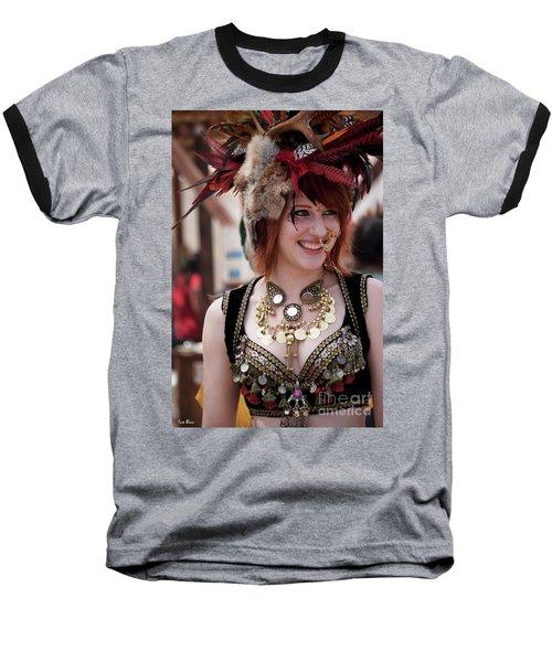 Renaissance Girl Baseball T-Shirt