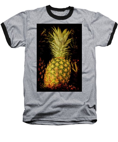 Renaissance Pineapple Baseball T-Shirt