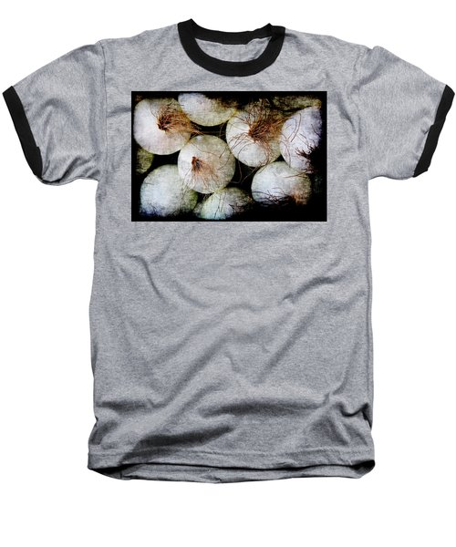 Renaissance White Onions Baseball T-Shirt