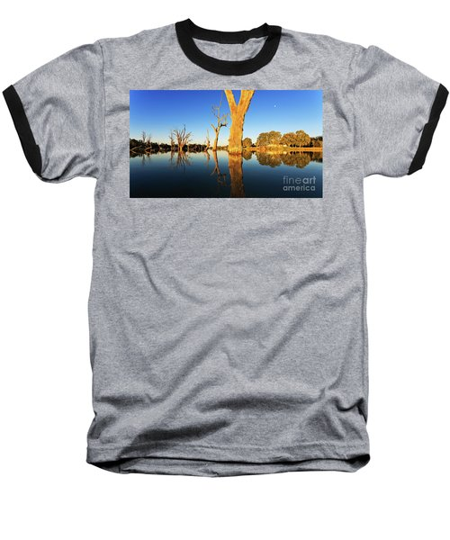 Renamrk Murray River South Australia Baseball T-Shirt by Bill Robinson