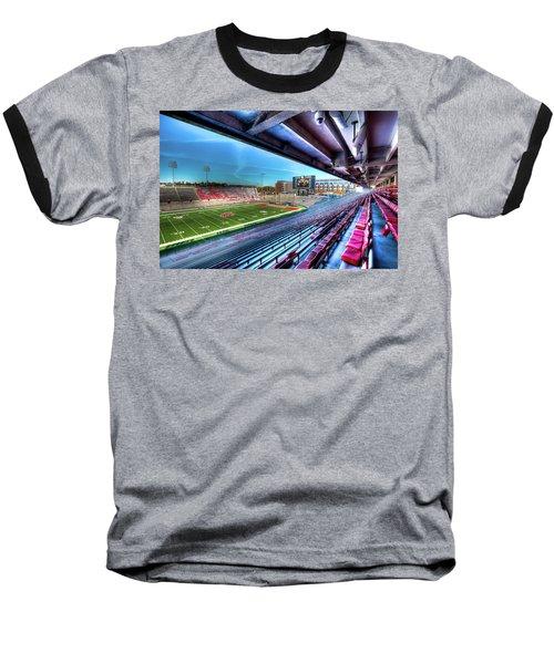 Renovated Martin Stadium Baseball T-Shirt by David Patterson